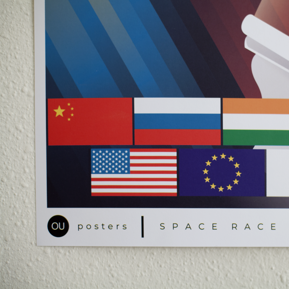 OU posters space race