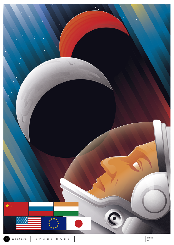 SPACE RACE OU Posters